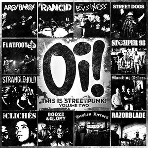 Used - Various ‎– Oi! This Is Streetpunk! Volume Two - LP