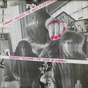 Used - Cabaret Voltaire ‎– The Voice Of America - LP