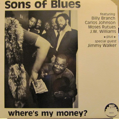 Used - Sons Of Blues ‎– Where's My Money? - LP