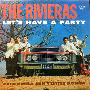 Used - Rivieras ‎– Let's Have A Party - LP