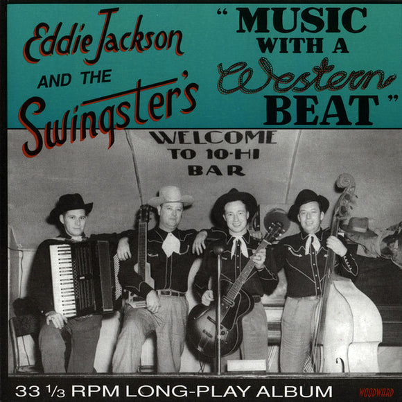 Used - Jackson, Eddie And The Swingsters ‎– Music With A Western Beat - LP