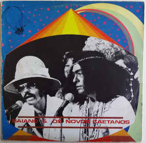 New - Baiano & Os Novos Caetanos - Self Titled - LP