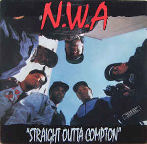 NWA - Straight Outta Compton - LP