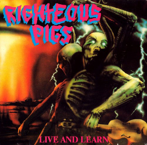 Used - Righteous Pigs ‎– Live And Learn - LP