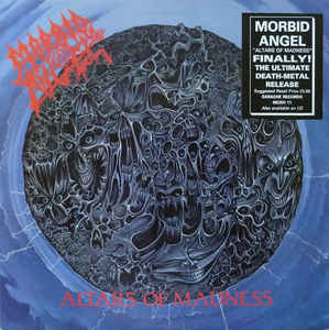 Used - Morbid Angel - Altars Of Madness - LP