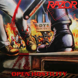 Used - Razor - Open Hostility - LP