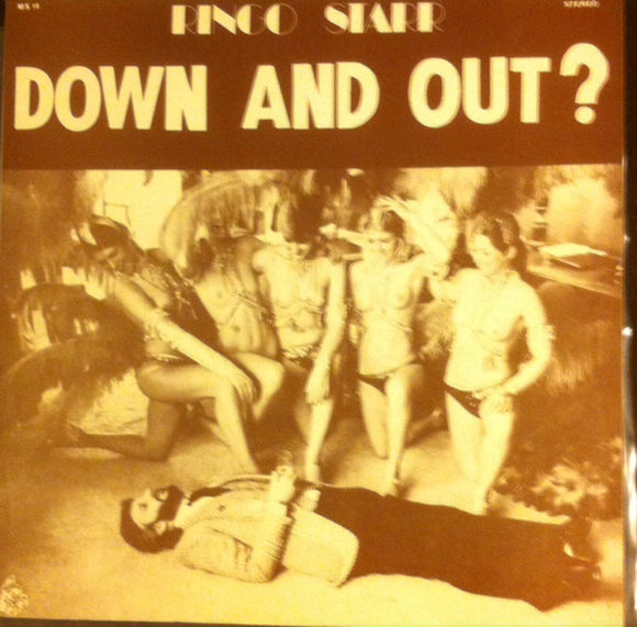 Used - Starr, Ringo ‎– Down And Out? - LP