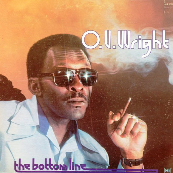 Used - Wright, O. V. ‎– The Bottom Line - LP