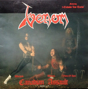 Used - Venom - Canadian Assault - LP