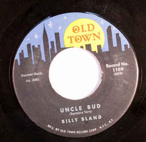 Used - Bland, Billy - Do The Bug With Me - 7""