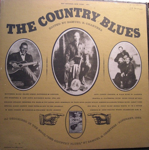 Used - Various ‎– The Country Blues - LP