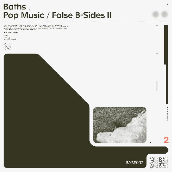 Baths - Pop Music/False B-Sides - LP