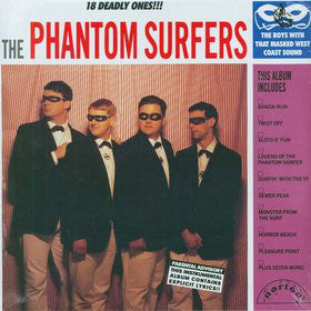 Used - Phantom Surfers ‎– 18 Deadly Ones!!! - LP