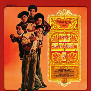 Used - Jackson 5 ‎– Diana Ross Presents The Jackson 5 - LP