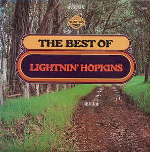 Lightnin' Hopkins - Best Of - LP