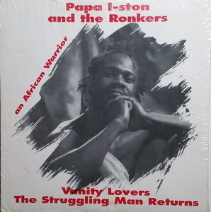 Used - Papa I-Ston, The Ronkers ‎– Vanity Lovers-The Struggling Man Returns - LP
