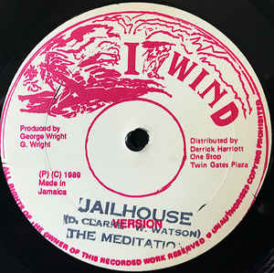 Used - The Meditations - Jailhouse - 12""