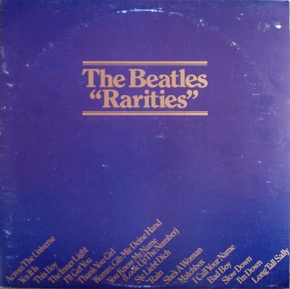 Used - The Beatles ‎– Rarities (black) - LP