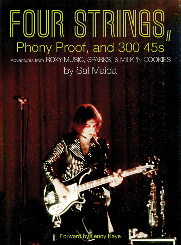 New - Maida, Sal - Four Strings - Book