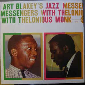 Used - Blakey, Art & The Jazz Messengers - With Thelonious Monk - LP