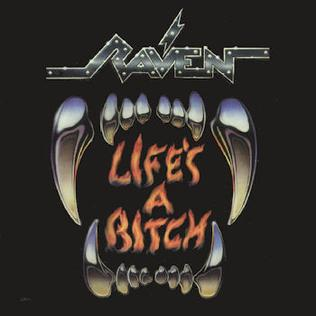Used - Raven - Life's a Bitch - LP