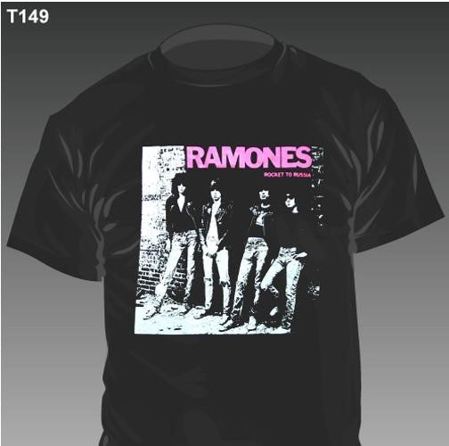 New - Ramones Rocket To Russia - Shirt