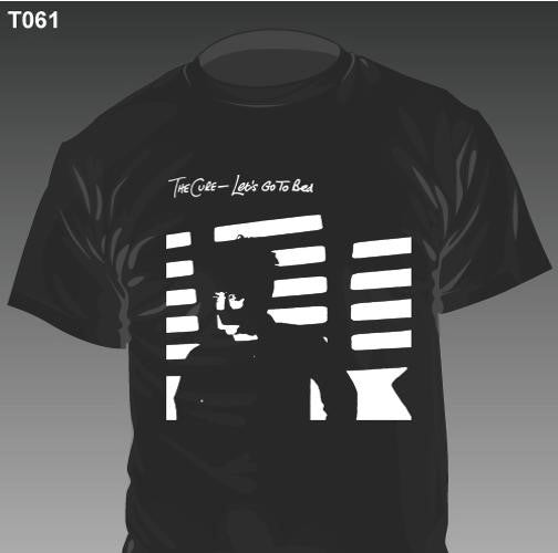 New - The Cure - Lets Go To Bed - Shirt