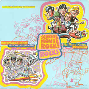 Used - Pavement/Man Or Astroman - School House Rocks - 7