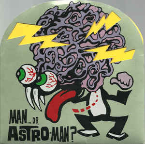 Used - Man Or Astroman - World Out Of Mind - 7