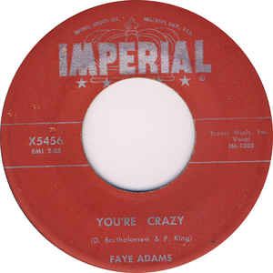 Used - Adams, Faye - You're Crazy - 7
