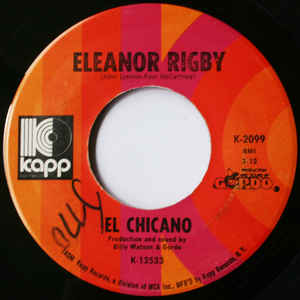 Used - El Chicano - Eleanor Rigby - 7