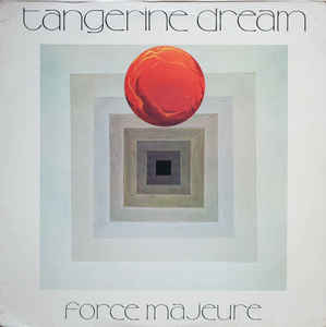 Used - Tangerine Dream - Force Majeure - LP