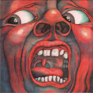 Used - King Crimson - In The Court Of The Crimson King - LP
