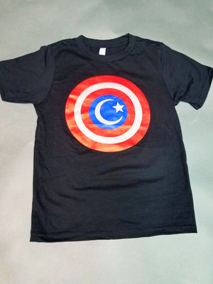 Captain America Crescent Shield Tee