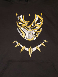 Black Panther Arabic Gold Hoody