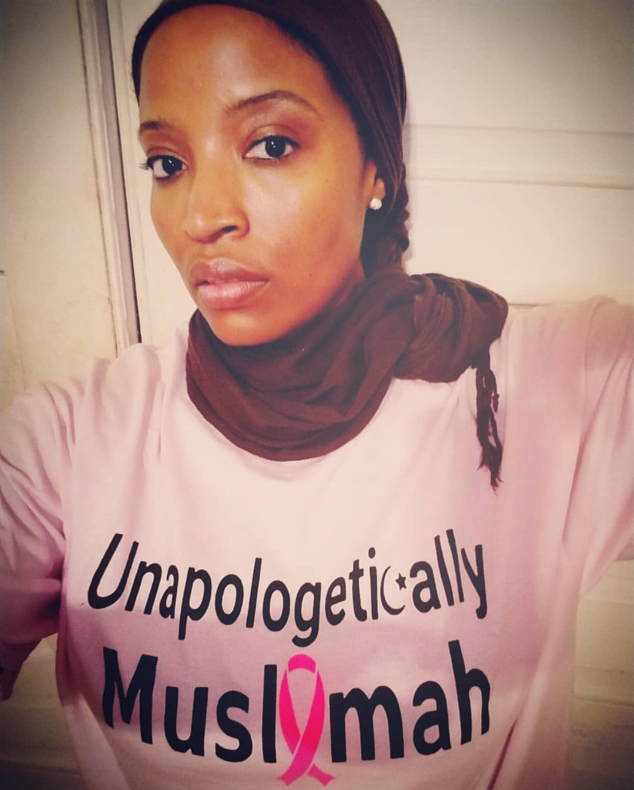 Unapologetically Muslimah Breast Cancer Tee