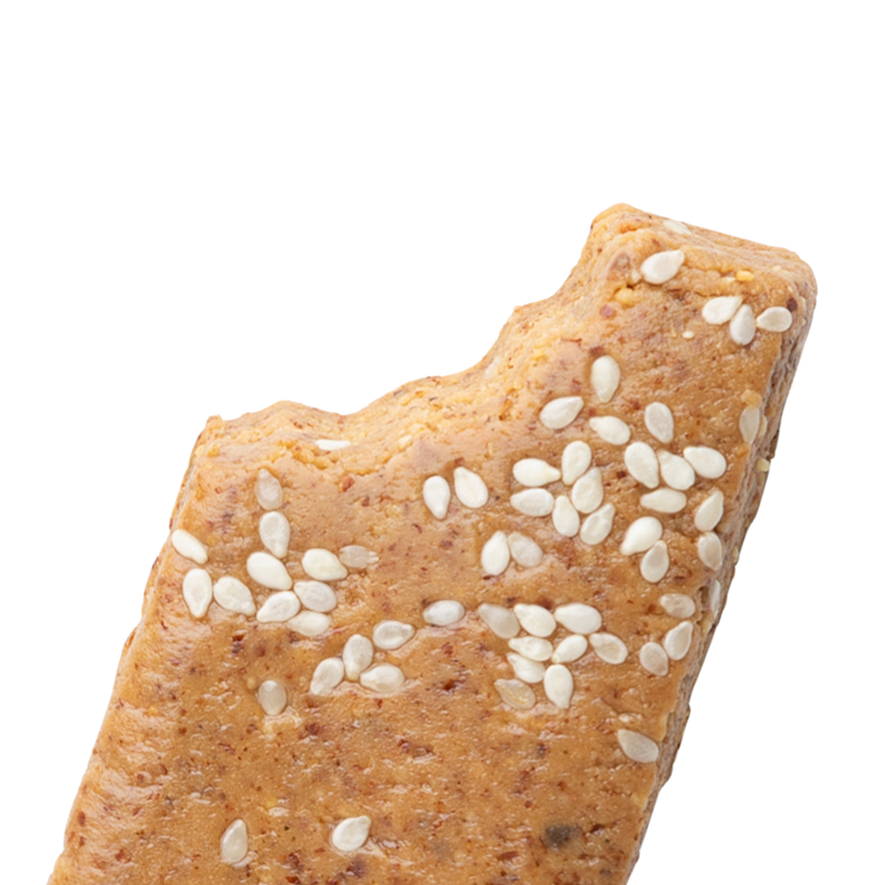 Closeup of Almond Butter bar