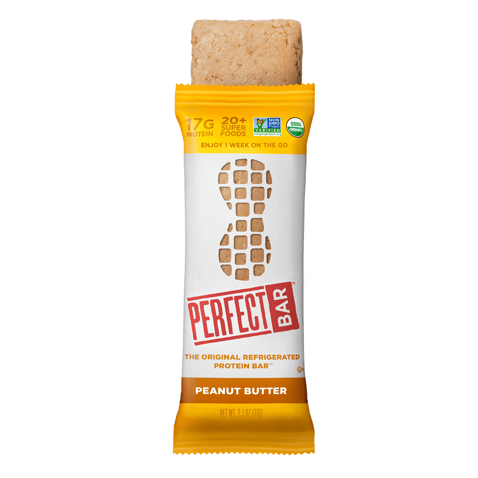 Peanut Butter bar and wrapper