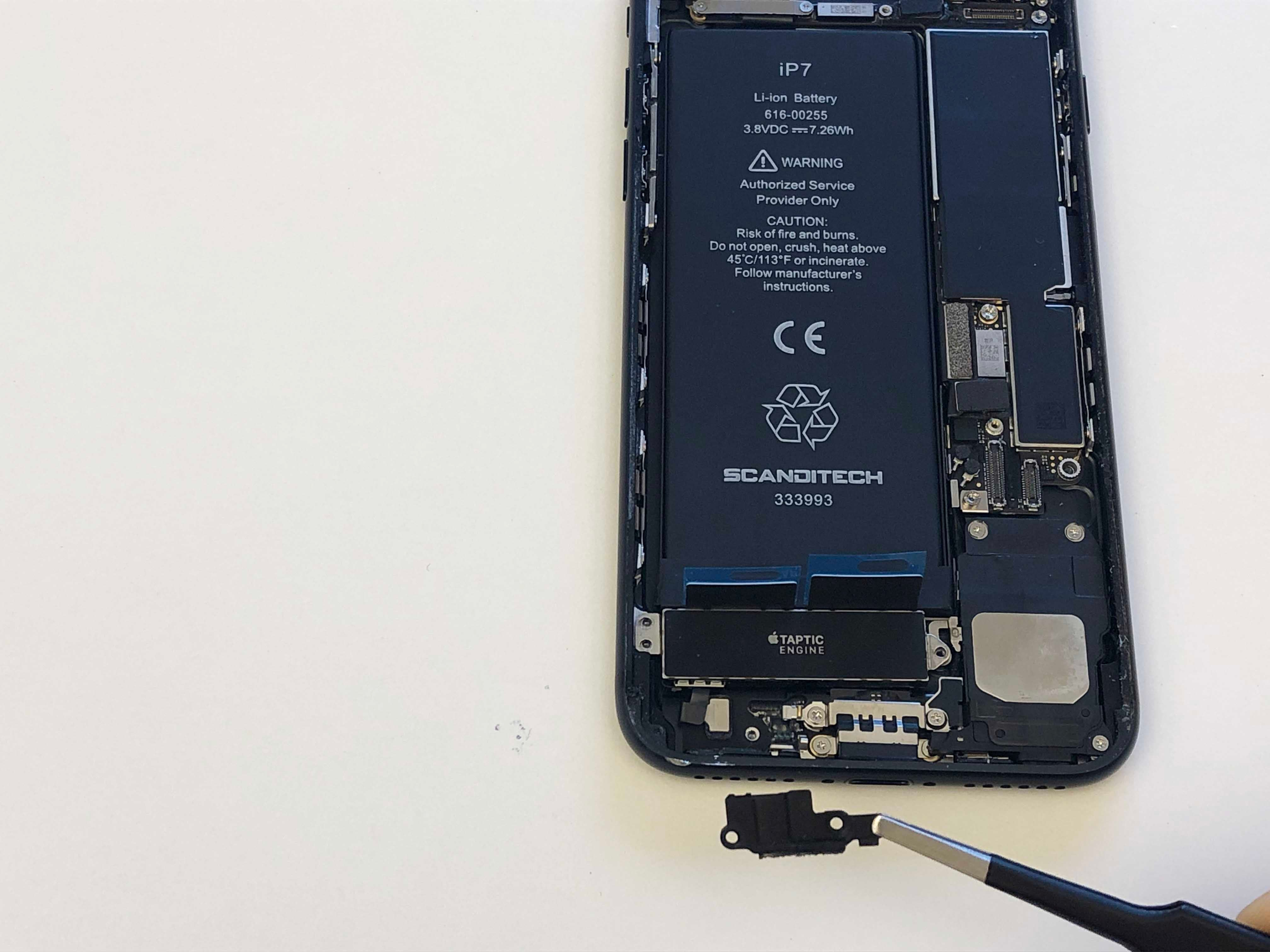 iPhone 7/7 Plus Battery Replacement - Reinstalling the taptic engine - 3