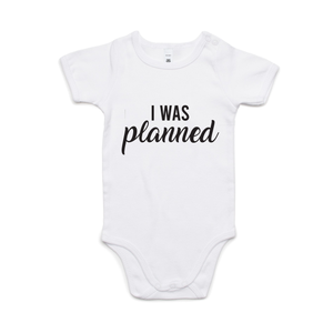 I WAS PLANNED (BLACK PRINT)