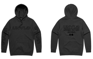 UNVLD OG HOODY BLACK ON BLACK