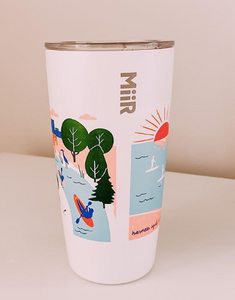 shore society x harness cycle miir 16 oz tumbler