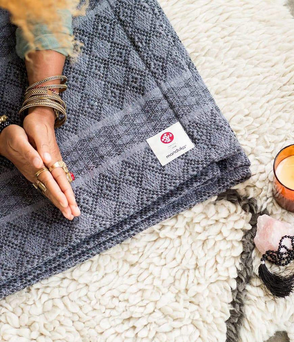 Manduka | cotton blanket