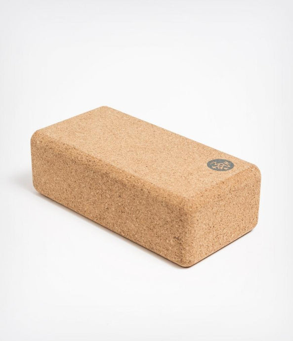 Manduka | lean cork yoga block