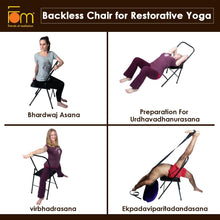 Load image into Gallery viewer, Iyengar Backless Chair for Yoga