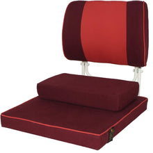 Load image into Gallery viewer, Buddha Bliss Yoga and Meditation Chair – Maroon