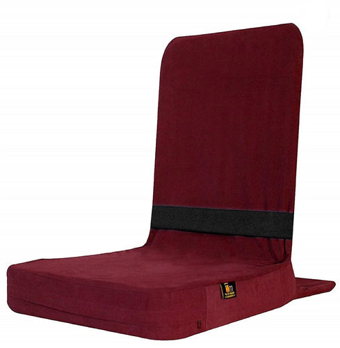 Back Jack Meditation and Yoga Chair (18 X 18 Inch) – Maroon