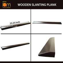 Load image into Gallery viewer, Specifications - Iyengar Yoga Wooden Slanting Wedge