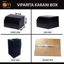 Load image into Gallery viewer, Specifications - Iyengar Yoga Wooden Viparita Karani Box