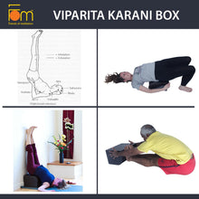 Load image into Gallery viewer, Poses - Iyengar Yoga Wooden Viparita Karani Box
